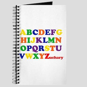 Zachary - Alphabet Journal