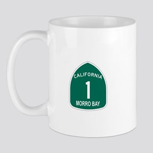 Morro Bay, California Highway Mug