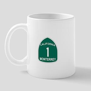 Monterrey, California Highway Mug