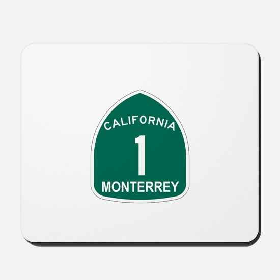 Monterrey, California Highway Mousepad
