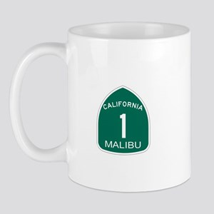 Malibu, California Highway 1 Mug
