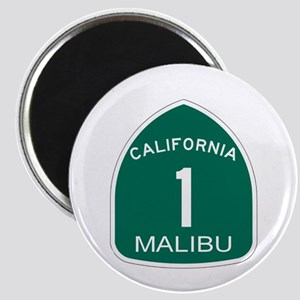 Malibu, California Highway 1 Magnet
