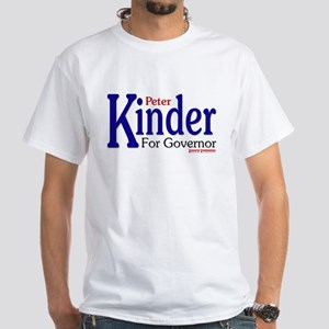 Peter Kinder for Governor White T-Shirt