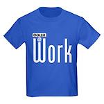 Ogler At Work Kids Dark T-Shirt