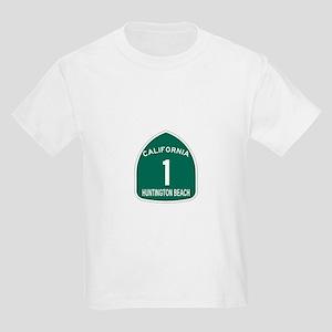 Huntington Beach, California Kids Light T-Shirt