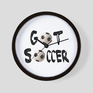 Got Soccer Wall Clock