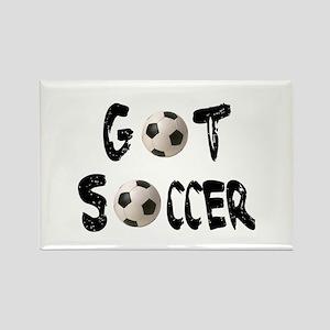 Got Soccer Rectangle Magnet