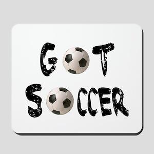 Got Soccer Mousepad
