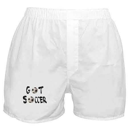 Got Soccer Boxer Shorts