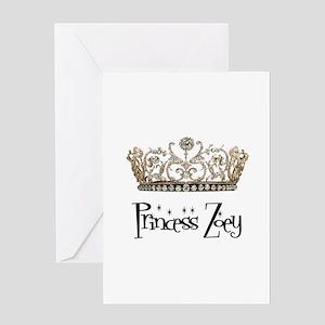 Princess Zoey Greeting Card