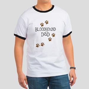 Bloodhound Dad Ringer T