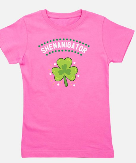Cute Irish lassie Girl's Tee