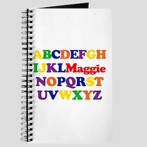 Maggie - Alphabet Journal