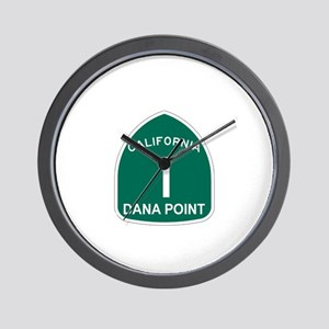 Dana Point, California Highwa Wall Clock