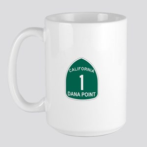 Dana Point, California Highwa Large Mug