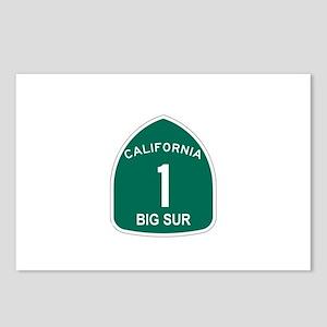 Big Sur, California Highway 1 Postcards (Package o