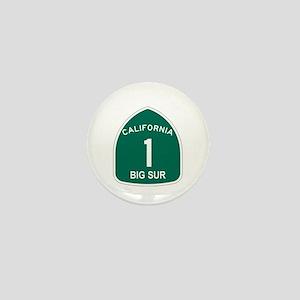 Big Sur, California Highway 1 Mini Button