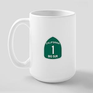 Big Sur, California Highway 1 Large Mug
