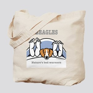 Beagle bed warmers Tote Bag