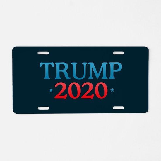 Trump 2020 Aluminum License Plate