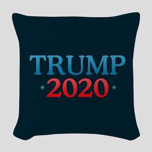 Trump 2020 Woven Throw Pillow