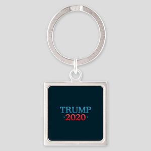 Trump 2020 Square Keychain