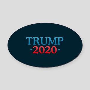 Trump 2020 Oval Car Magnet