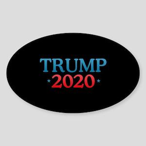 Trump 2020 Sticker (Oval)