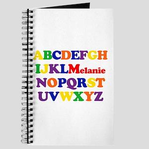 Melanie - Alphabet Journal