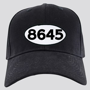 8645 Black Cap with Patch