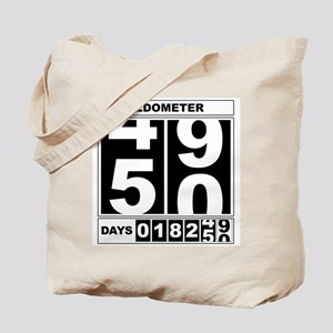 50th Birthday Oldometer Tote Bag