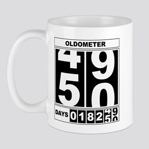 50th Birthday Oldometer Mug