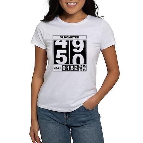 50th Birthday Oldometer Women's T-Shirt
