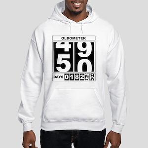 50th Birthday Oldometer Hooded Sweatshirt