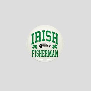 Irish Fisherman Mini Button