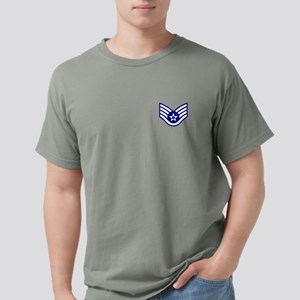 USAF: SSgt E-5 Mens Comfort Colors Shirt