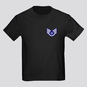 USAF: SSgt E-5 Kids Dark T-Shirt