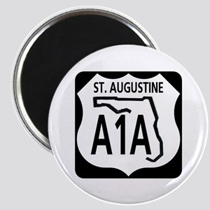 A1A St. Augustine Magnet