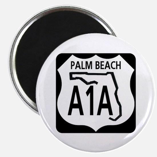 A1A Palm Beach Magnet