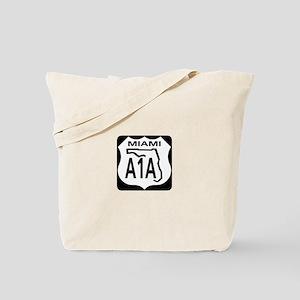 A1A Miami Tote Bag