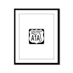 A1A Juno Beach Framed Panel Print