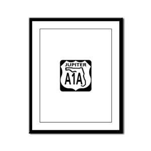 A1A Jupiter Framed Panel Print