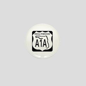 A1A Hollywood Mini Button
