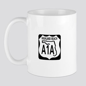 A1A Highland Beach Mug