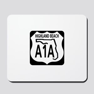 A1A Highland Beach Mousepad