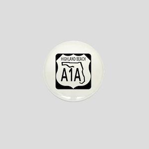 A1A Highland Beach Mini Button
