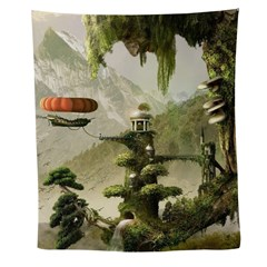 Giant Willow Fantasy Wall Tapestry