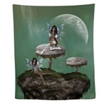 Dream Fairies Wall Tapestry