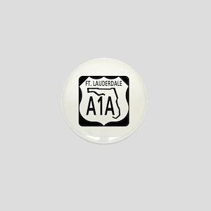 A1A Fort Lauderdale Mini Button