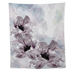Artistic Flowers Wall Tapestry